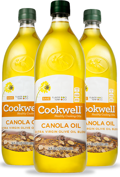 Canola Oil and Extra Virgin Olive Oil Blend