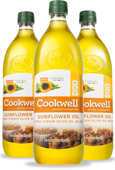 Sunflower Oil and Extra Virgin Olive Oil Blend